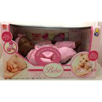 Boneca Bebê Coleção Negra - 8018 Divertoys -