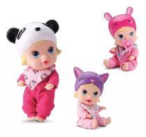 Boneca Bebê Little Dolls Soninho Faz Xixi Alive - Divertoys -