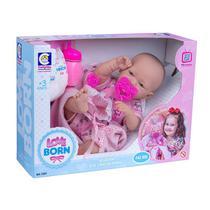 Boneca Bebê - Love Born - Bebezinho da Mamãe - Cotiplás - Cotiplas