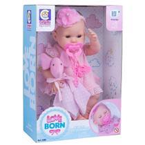 Boneca Bebê Love Born Hora da Naninha Cotiplás - Cotiplas