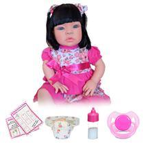 Boneca Bebê Menina Estilo Reborn Newborn - Kaydora Brinquedos