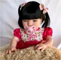 Boneca Bebê Realista - com Kit Acessórios - Sid-Nyl