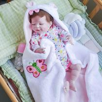 boneca bebe reborn 55cm corpo de silicone roupa urso panda - Bzdoll