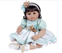 Boneca bebe reborn adora doll honey bunch - shiny toys