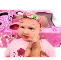 boneca bebe reborn bruna baby corpo todo vinil silicone menina realista pandinha - Mother Love