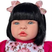 Boneca Bebe Reborn Linda Morena Completa - Kaydora Brinquedos
