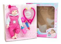 Boneca Bebê Reborn Primeira Consulta Medica Doutora - Bhstore