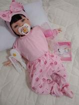 Boneca bebe reborn Princesa Rosa - Sid nyl