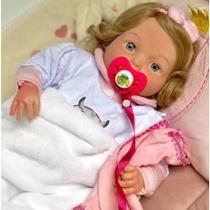 Boneca Bebê Reborn Realista Yasmin Original + Brinde - Sid nyl