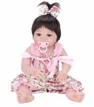 Boneca Bebê Reborn Silicone +brinde Pronta Entrega -