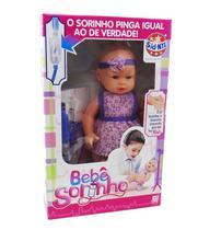 Boneca Bebê Sorinho - Sid-Nyl -