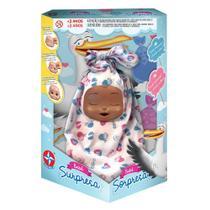Boneca Bebê Surpresa Negro - Estrela -