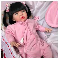Boneca Bebê Tipo Reborn - Kit Acessórios - Fantasy Baby