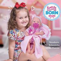 Boneca Bebezinho da Mamãe - Love Born - Cotiplás -