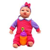 Boneca Briquedo Bella Baby Expressão Facial 1645 - Arcani
