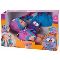 Boneca bubu e as corujinhas bebê hora do banho roma ref:5605 3 anos+ -