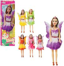 Boneca Cindy Fada Da Floresta Colors Na Caixa - Wellmix