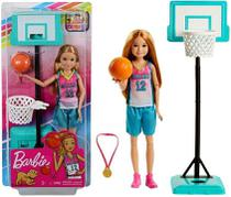 Boneca Colecionável Esportes Dreamhouse Articulada Menina Stacie Mini Acessórios Barbie - Mattel -