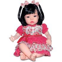 Boneca com Mecanismo BABY KISS Morena - Sid-Nyl