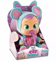 Boneca Cry Babies Baby Lala Chora Com Lágrimas Multikids -