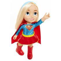 Boneca DC Super Hero Girls Supergirl Toddler Girl Doll 35 Cm - Mimo