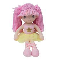Boneca de Pano - Bailarina Sweet - Rosa Claro - Buba -