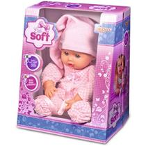 Boneca de pano little soft 6710 - alligra - Terra