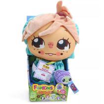 Boneca de Pano Transformável Flipkins Cute Ana - DTC -
