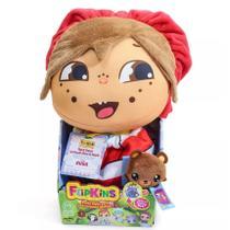 Boneca de Pano Transformável Flipkins Cute Guga - DTC -