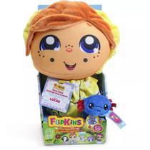 Boneca de Pano Transformável Flipkins Cute Lucas - DTC -