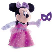 Boneca De Pelúcia Disney Minnie Bailarina Br231 Multikids -