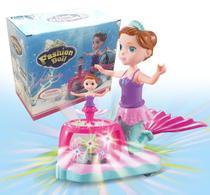 Boneca Fashion Doll Sereia Dança e acende luz - Toys