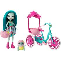 Boneca Fashion e Veículo - Enchantimals - Talee Turtle - Mattel -