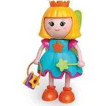 Boneca Flora Fadinha de Atividades Com Som e Luz Elka Brinquedos -