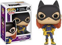 Boneca Funko Pop - Batgirl 136 - DC Super Heroes - Original -