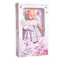Boneca Grande Fala 62 Frases Mamadeira Boneca Judy 48cm - Milk brinquedos