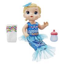 Boneca Hasbro Baby Alive Linda Sereia Loira Hasbro -