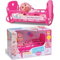 Boneca Hora De Dormir Com Berço, Saco De Dormir E Mamadeira - BeeToys Brinquedos -
