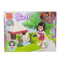 Boneca Infantil para Montar Estilo Lego Friends Girls - Spider