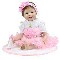 Boneca Laura Baby Enchanted Smile - Bebe Reborn