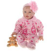 Boneca Laura Doll Baby Friend Love - Bebê Reborn - Shiny Toys -