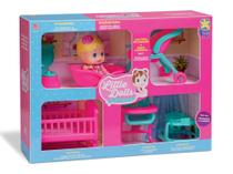 Boneca little dolls casinha - Divertoys Indus