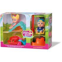Boneca Little Dolls Super Playground - Diver Toys - Divertoys