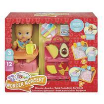 Boneca Little Mommy Bebê Lanchinhos Surpresa - Gfk76 - Mattel