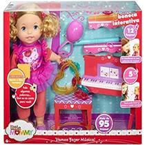 Boneca little mommy com mecanismo aula musical - Mattel