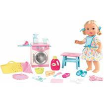 Boneca Little Mommy - Hora de Comer e Lavar - Mattel -