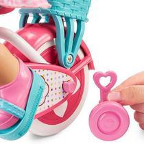 Boneca Little Mommy Meu Primeiro Passeio Mattel Ref Fcn11 -