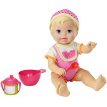 Boneca Little Mommy Momentos do Bebê - Hora de Comer Melancia - Mattel -