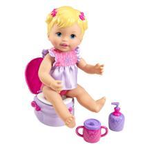 Boneca Little Mommy - Peniquinho - Vestido Lilás - Mattel -
