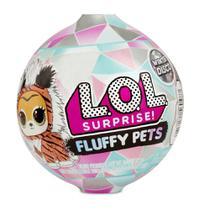 Boneca LOL 7 Surpresa Fluffy Pets Winter Disco 8929 - Candide -